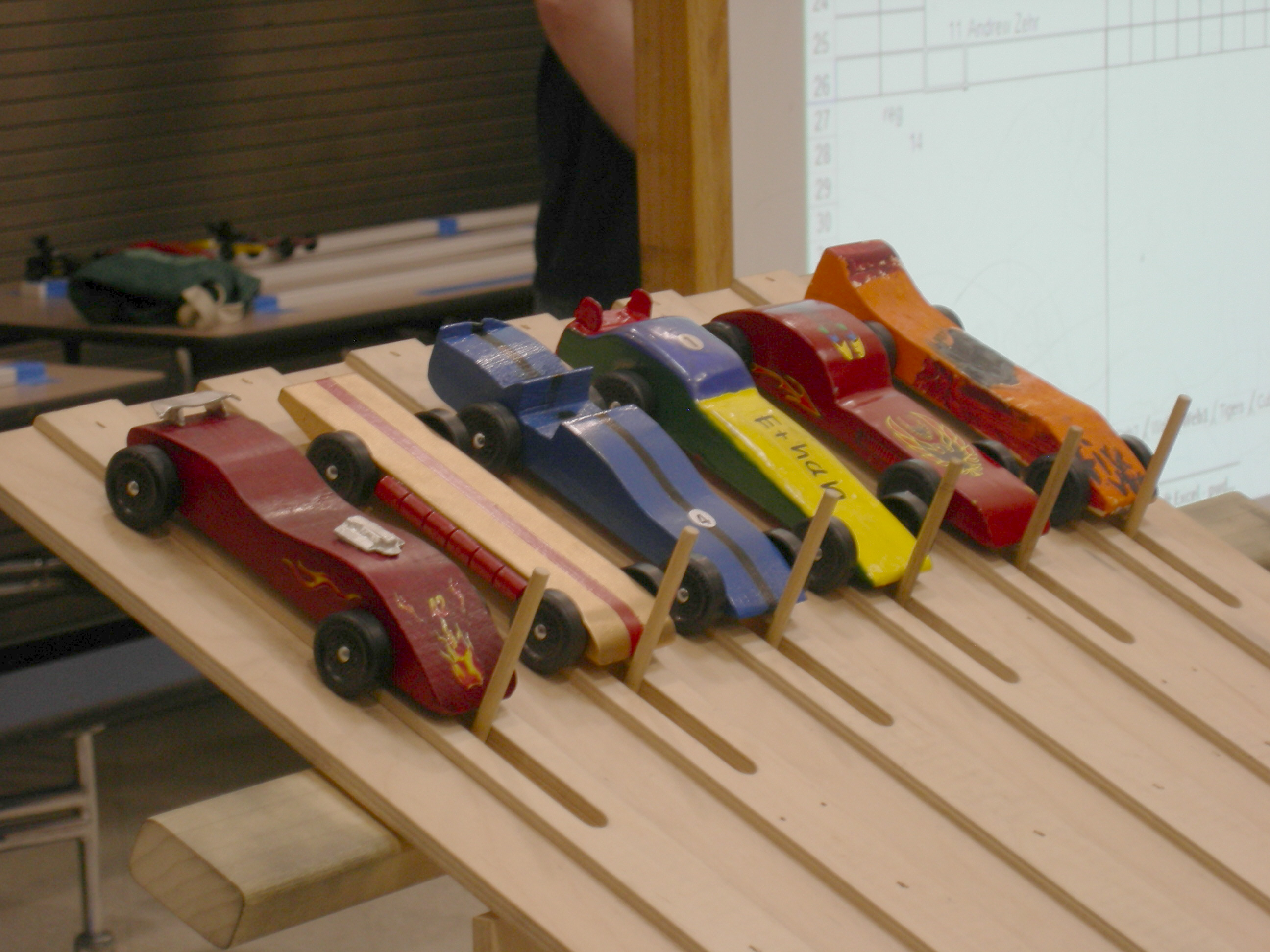 Pinewood Derby Racing @ Lost Love | good liver NOLA